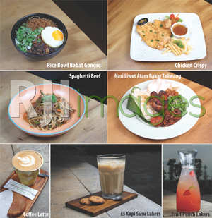 Aneka Menu Lakers Cafe @BSB Village Semarang