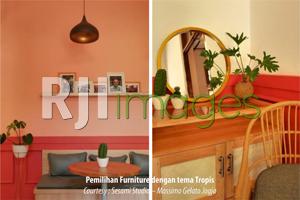 Pemilihan Furniture dengan tema Tropis