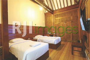 Superior room dengan twin bed