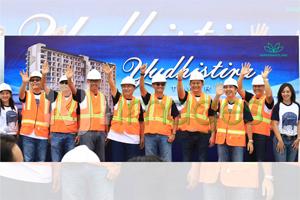 Yudhistira Tower Topping Off Ceremony@MATARAM CITY#1